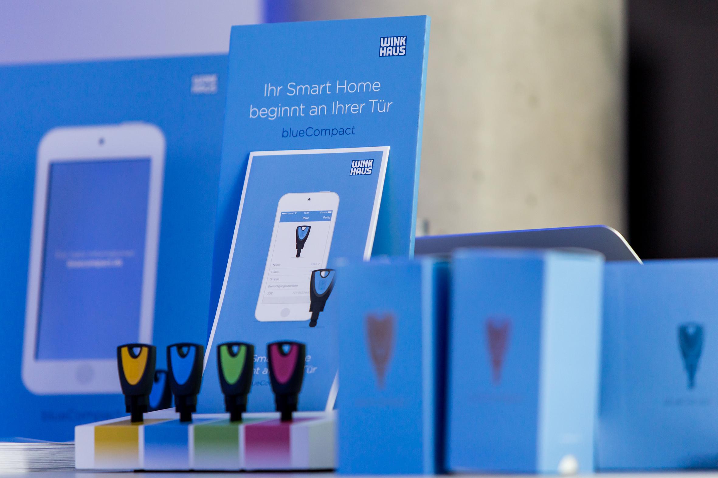 Elektronisch sluitsysteem bluecompact van winkhaus laat for Winkhaus blue compact test
